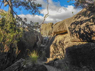 Viewing Platform at Cranky Rock - Warialda