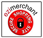 EziMercahant Logo - Secure Shopping Site