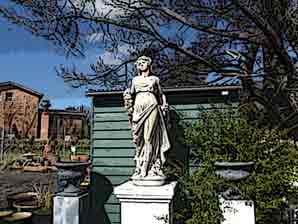 Statues & Fountains - The Old Convent Gardens  - Guyra NSW