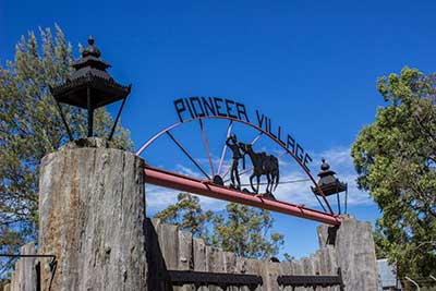 Inverell's Pioneer Village - Tingha Road