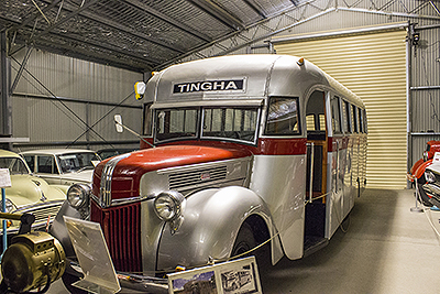 A Tingha Bus from the past - Inverell's Transport Museum