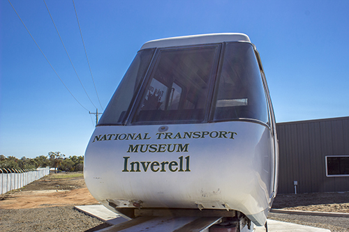 Sydney Mono Rail - Transport Museum Inverell - Rifle Range Road