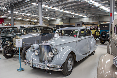1951 Jaguar MK V 3.5Z Series Sedan - vintage car - Inverell Transport Museum