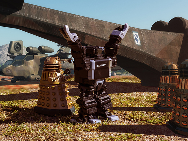 Enemy Combatants of the Daleks!